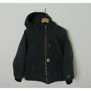 Carhartt M Quick Duck Insulated Work Jacket Black